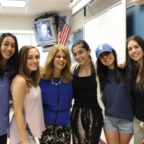 "Bela K., far left, said, ""Ms. Bozzo will be missed most for her boundless energy and her passion for teaching."""