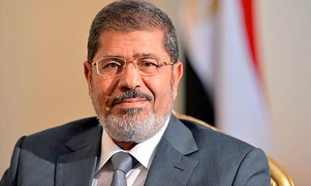 Egyptian President Mohamed Morsi (Khaled Desouki / AFP)