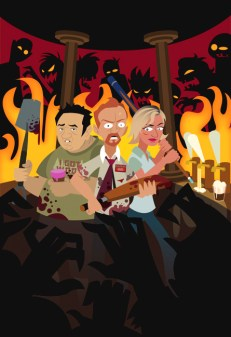 SHAUN OF THE DEAD - Last Stand at the WInchester