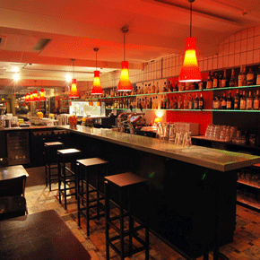 Verbouwing bar/restaurant