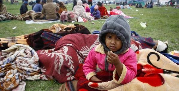 Jérôme Viaud - Mobilisation Népal