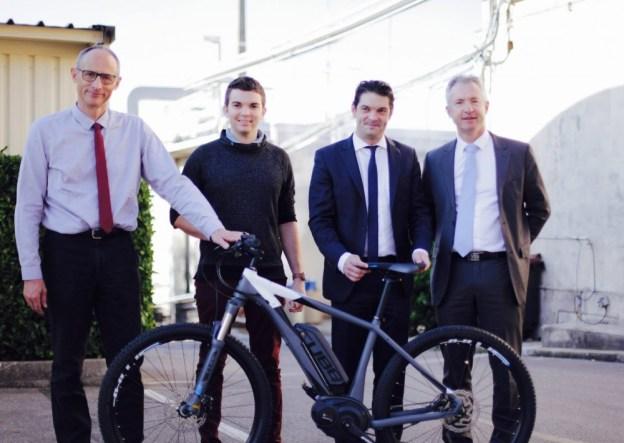 Remise du Vélo à Assistance Electrique, lauréat du challenge mobilité du Pays de Grasse 01