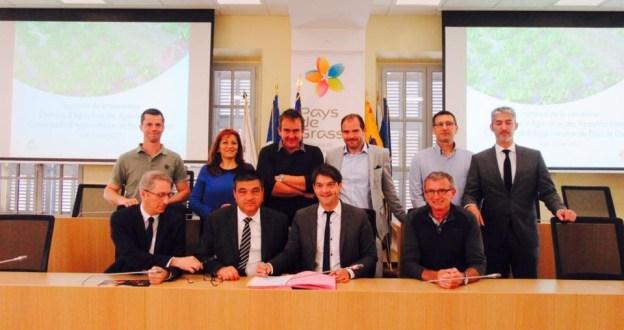 Signature avec la Chambre d'Agriculture d'une convention pluriannuelle 01