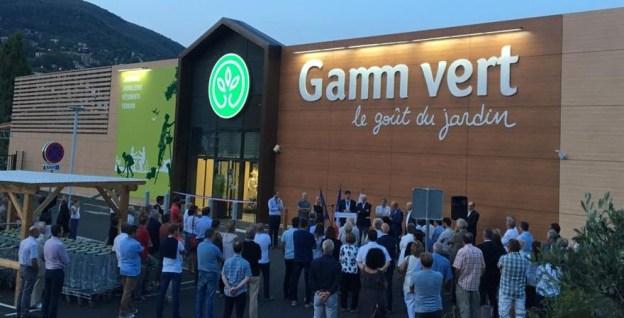 Inauguration de Gamm Vert à Grasse 03