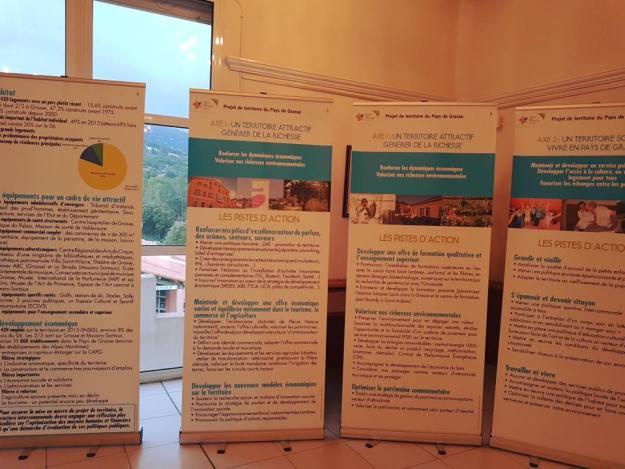 5ème étape pour le projet de territoire du Pays de Grasse au Tignet 03
