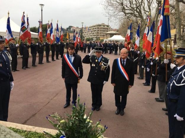Assemblée Générale Nationale des Porte-drapeaux de France 06