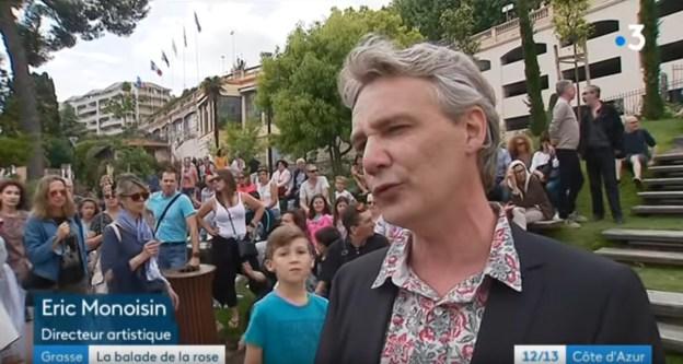 Reportage de Fr3 Cote d'Azur sur ExpoRose 2018