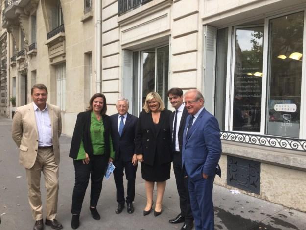 inauguration espace Le Cannet Cote d'Azur – pays de Grasse à Paris 01