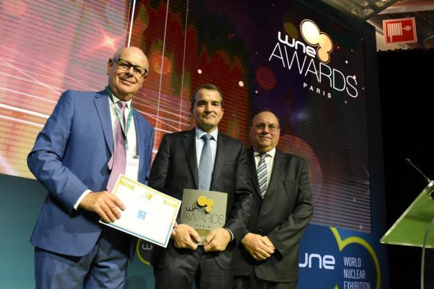 Le laboratoire pharmaceutique Grassois CEVIDRA remporte le prix de l'Innovation sûreté nucléaire dans la catégorie TPE-PME