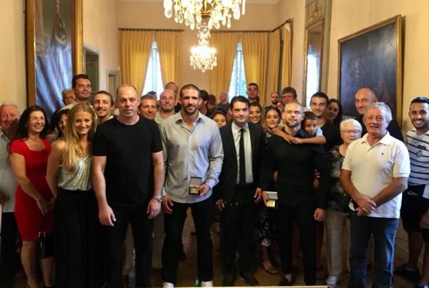2 champions grassois à la villa Fragonard 01