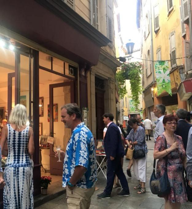 Ouverture de la boutique-atelier de Nathalie WAUTELIER, UN PARFUM D'ART 01