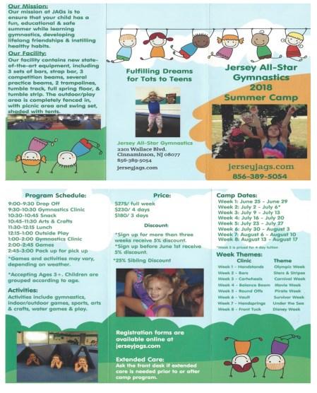 Webpage brochure