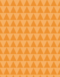 Orange trees pattern