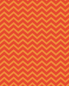 superbright-red orange chevron