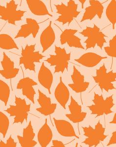 Printable leaf pattern paper