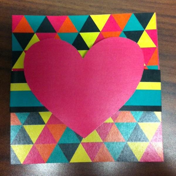 DIY valentine step 3