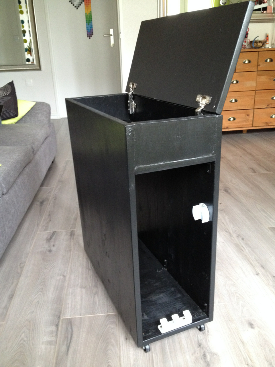 Meuble pc perso jess co for Meuble tv xbox one