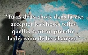 Osez changer!