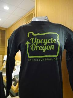 upcycle oregon shirt