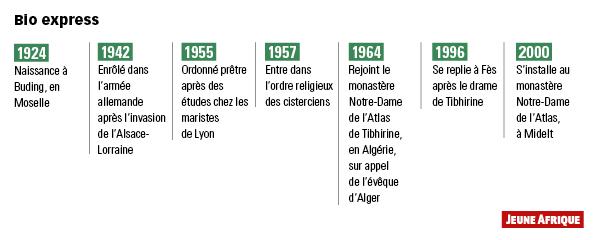 Algérie : moi, père Jean-Pierre Schumacher, dernier moine de Tibhirine