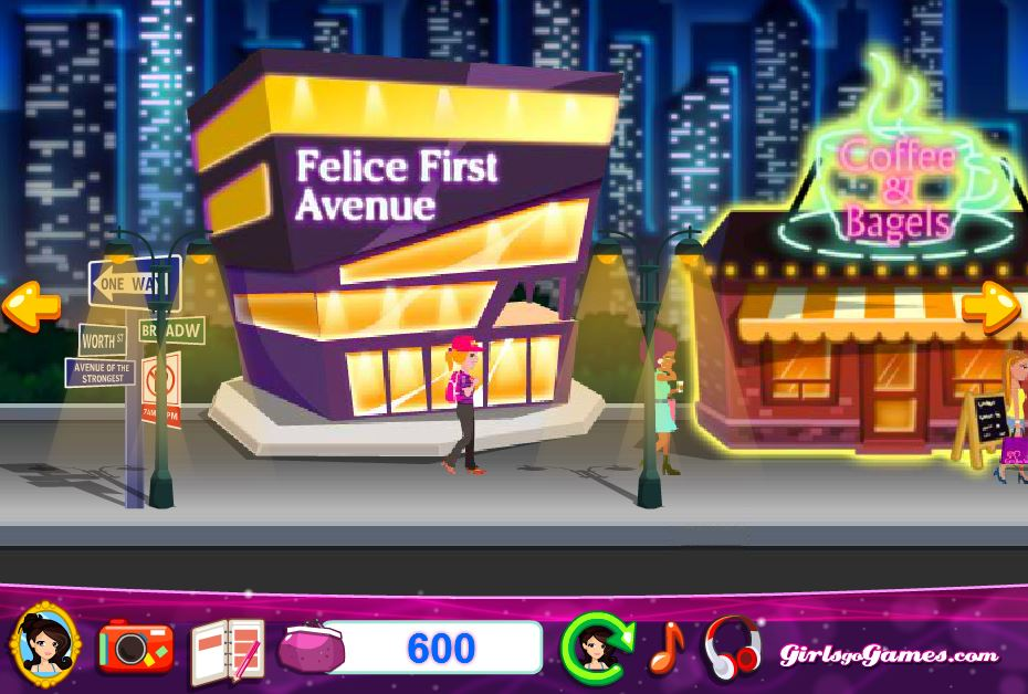 Jeux de mode gratuit Shopping      New York