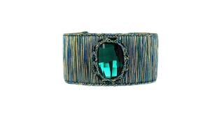 boks-baum-wolf-badger-ny-cuff-bracelet-emerald