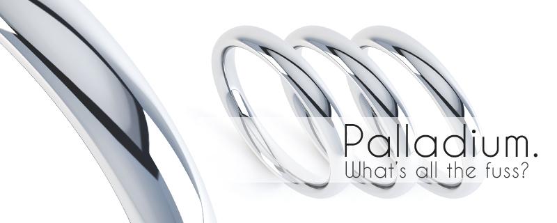white gold or platinum or palladium white gold
