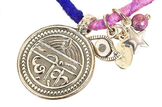 Silver Good Health Friendship Bracelet