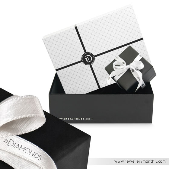21 Diamonds Jewelry Packaging
