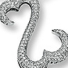 Open Hearts Inspirations by Jane Seymour Diamond Necklace