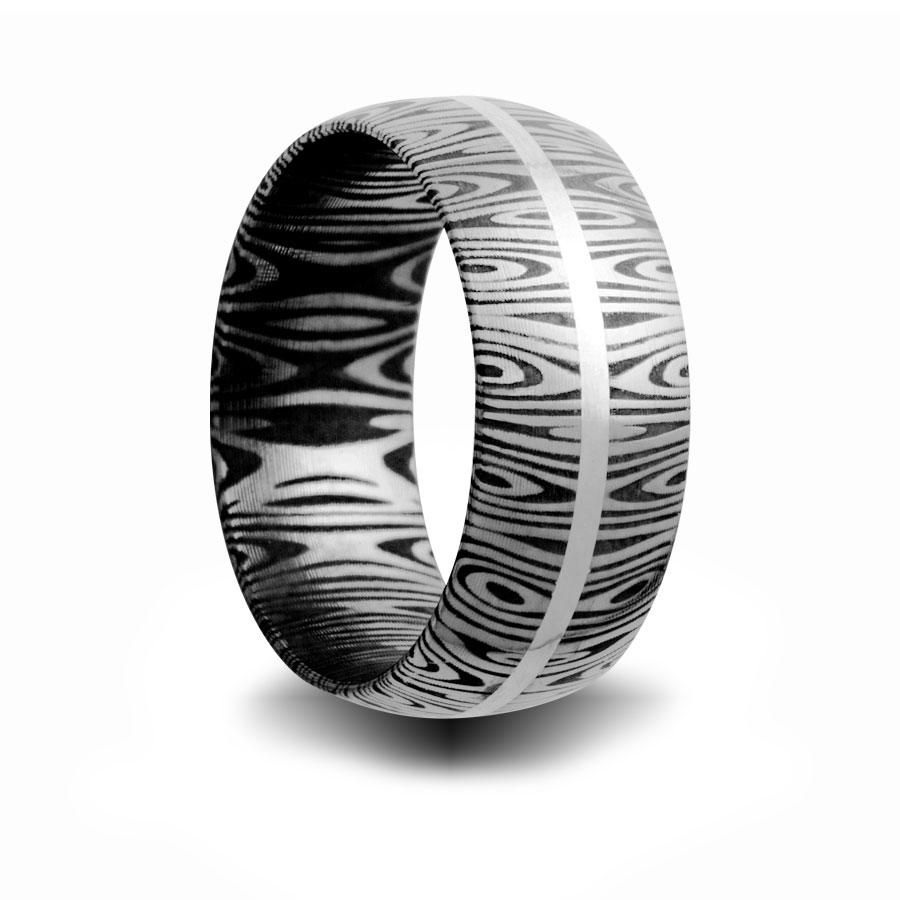 weddingbandspage12 damascus steel wedding bands damascus steel wedding band HSRSS damscus steel wedding ring