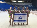 The Israeli Rhythmic Gymnastics Team Wins Gold in Baku