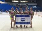 The Israeli Rhythmic Gymnastics Team Wins Gold in Baku