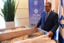 Egyptian Ambassador to Israel Hazem Khairat Receives Ancient Egyptian Relics