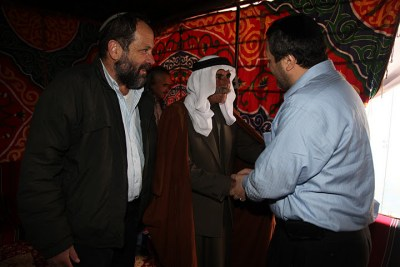 Meeting with Sheikh Jabari