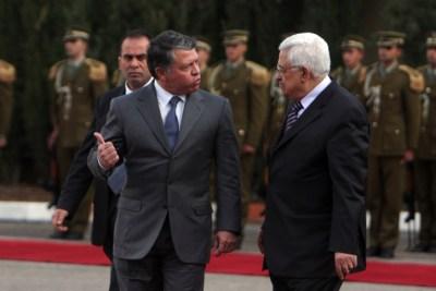 Abdullah and Abbas Meet in Ramallah