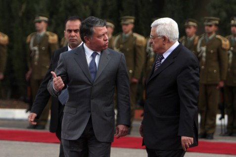 Abdullah and Abbas Meet in Ramallah
