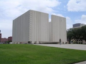 The Kennedy Memorial in Dallas.
