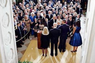 Hanukkah White House 2011