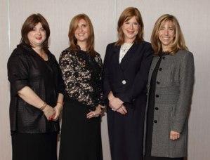 (L-R): Pamela Bielak, Rebecca Lambert, Nancy Weisbrod, Ellen Schwartz