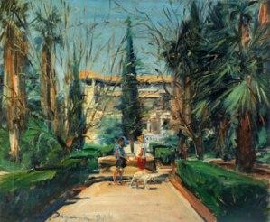 Kibbutz Degania (1934) oil on canvas by Ludwig Blum. Courtesy Museum of Biblical Art