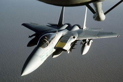 Saudi F15 Jet Fighter