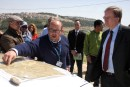 EU Rep to PA and UNRWA Comissioner-General near Bethlehem in Judea