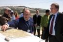EU Rep to PA and UNRWA Comissioner-General near Bethlehem in Judea