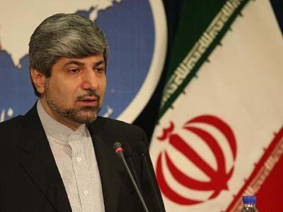 Iran Foreign Ministry Spokesperson Ramin Mehmanparast