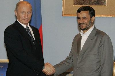 Ahmadinejad and Putin