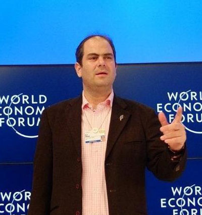 Eli Beer addressed the World Economic Forum at Davos.