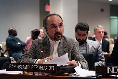 Iran's UN ambassador Mohammad Khazaee