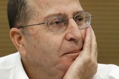 Defense Minister Moshe 'Boogie' Ya'alon.