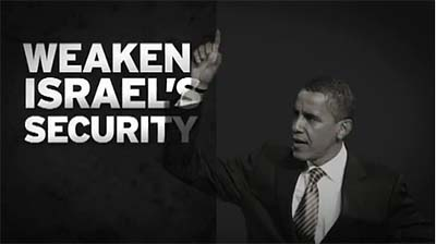 The Republican Jewish Coalition (RJC) released an anti-Obama web ad titled &quot;Security.&quot;